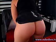 Big ass ALLICE MISTRESS shows her big ass and secrets