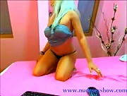 Stunning blonde teen from LiveJasmin